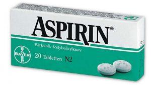 Аспирин - для уменьшения боли