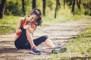 Физические нагрузки - причина перелома колена