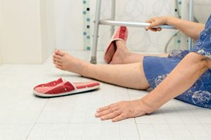 Падение - причина перелома голени