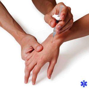 При сильной боли помогает обезболивающие