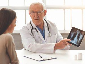 Диагностика ушиба легких на рентгене