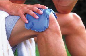 Наложение холода на колено