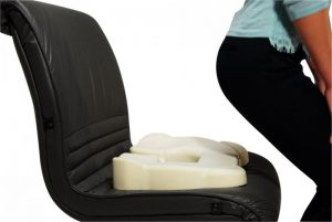 Ортопедическая подушка при травме копчика