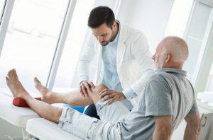 Осмотр врача-травматолога