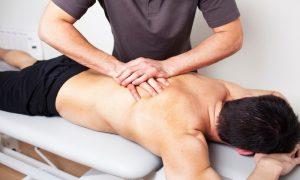 Посещение процедур лечебного массажа