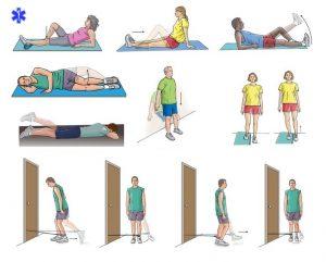 Упражнения для растяжения связок после вывиха колена