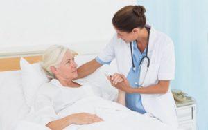 Госпитализация при переломе шейки бедра