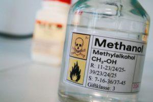Особенности отравления метиловым спиртом
