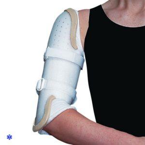 В случае повреждения плеча без смещения лечение подразумевает обездвиживание