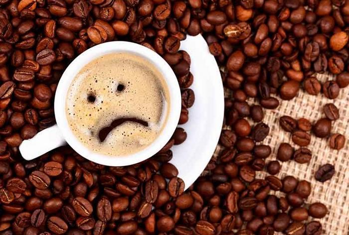 Особенности передозировки кофе