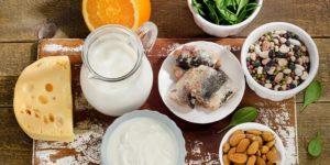 Полезные продукты при переломах