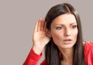 При поражении кортиевого органа наблюдается спонтанное ухудшение слуха