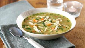 Супы разнообразят питание при осложненных переломах