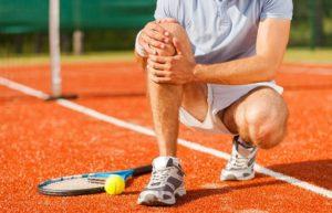 Травмы коленного сустава у спортсменов