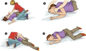 Если человек при передозировке потерял сознание то его нужно положить на бок