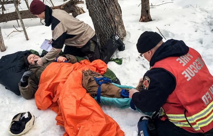 Доврачебная помощь при обморожении