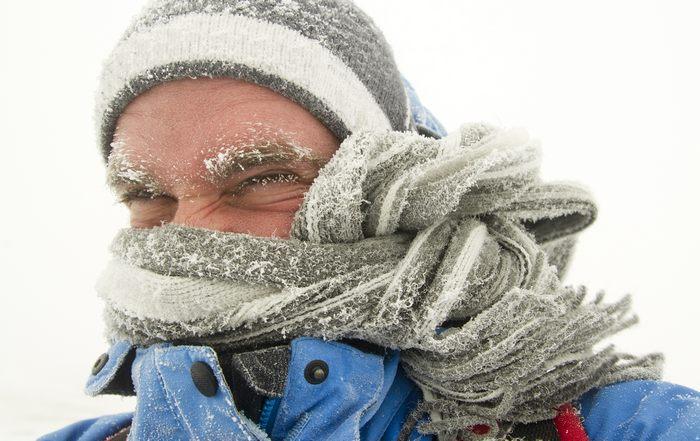 Особенности отморожения лица