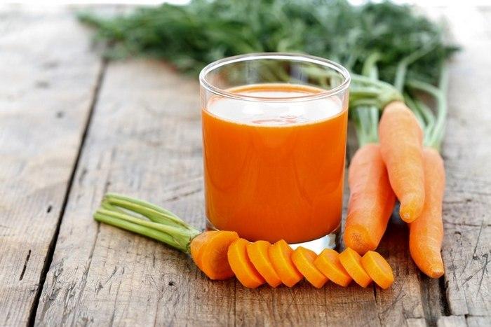 Никотин активнее выходит из крови если принимать по стакану морковного сока ежедневно